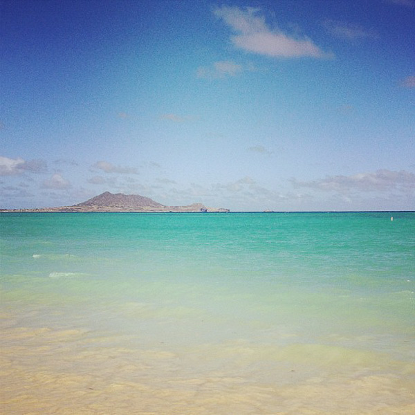 Clear Hawaiian Waters on Vacation